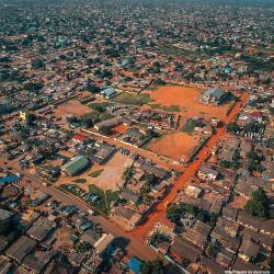 drone image Accra