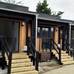 Jimmy's Cambridge release video of modular homes for local homeless people