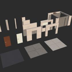Modular elements of building