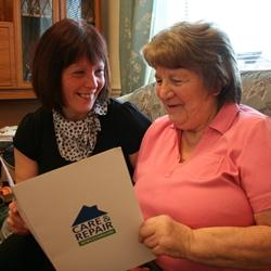 Report backs government-funded older people's advice service