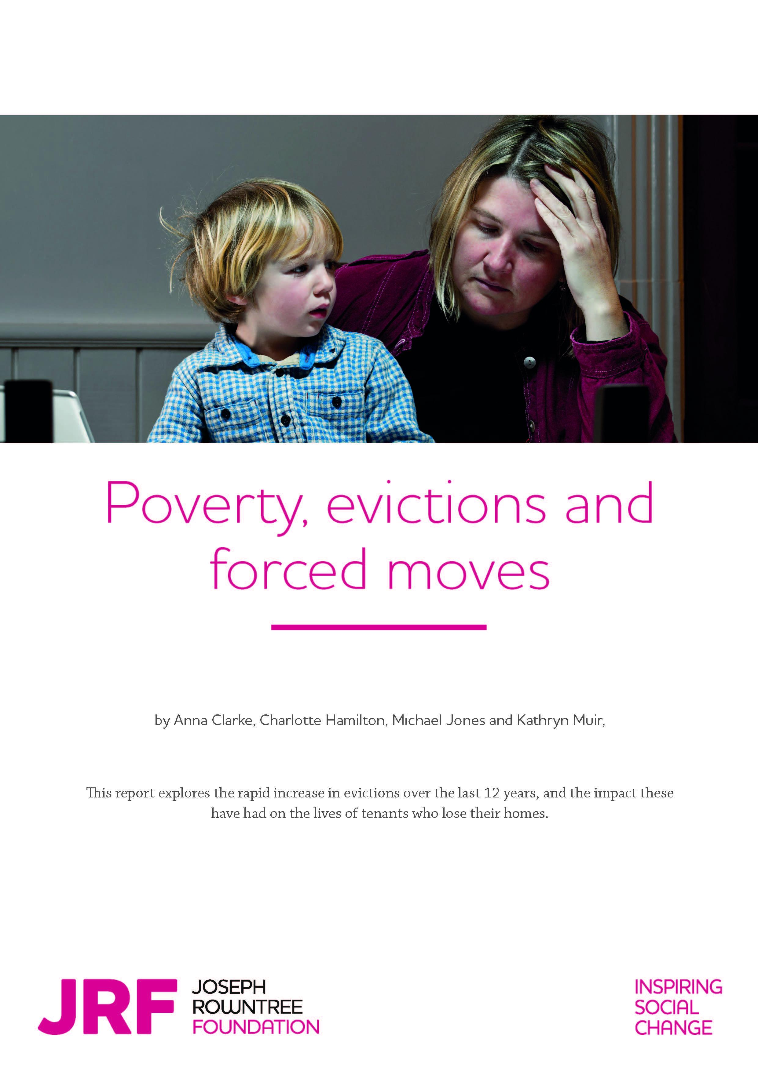 Evictions reach a record high -  new report for JRF published
