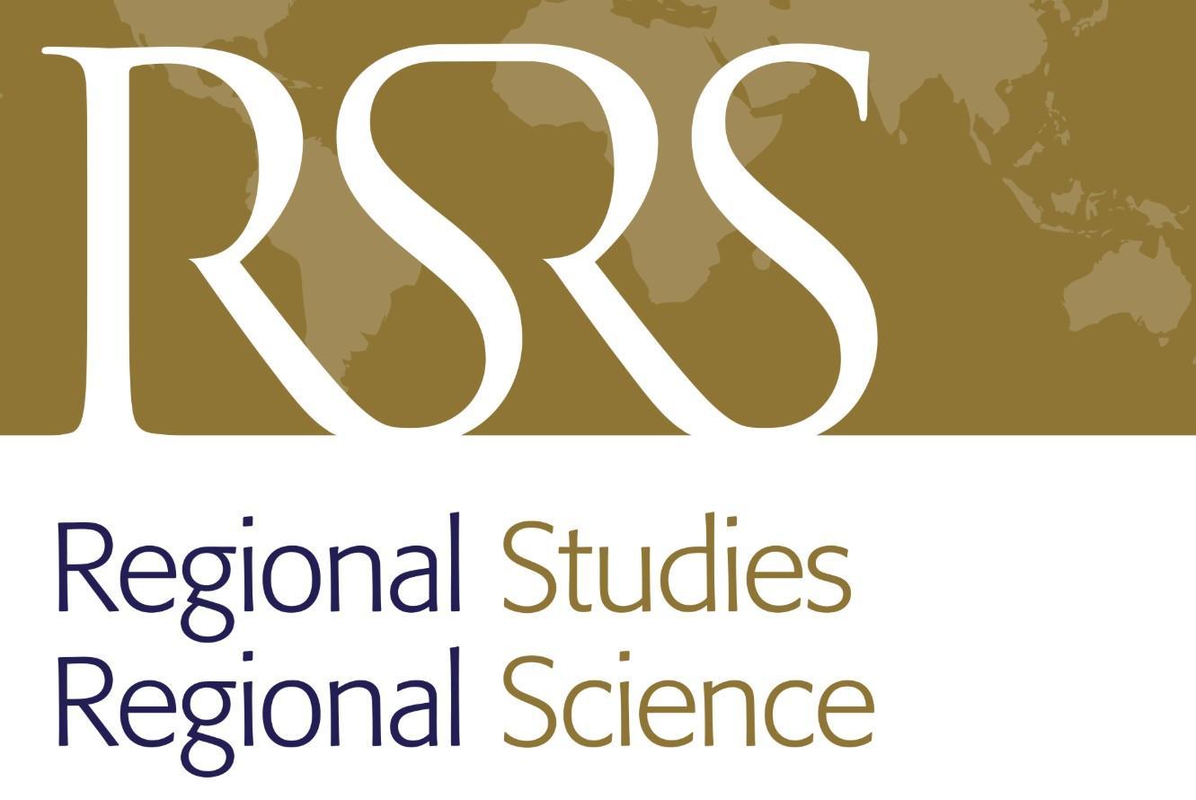 Regional Studies, Regional Science publish new paper by Franziska Sielker
