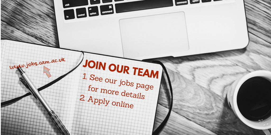 We're recruiting for a researcher to join our team